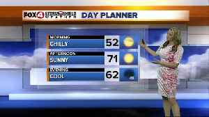 News video: Chilly Morning Temperatures, Sunny Afternoon