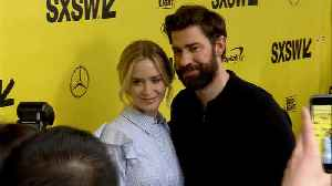 News video: John Krasinski reluctant to work with wife Emily Blunt in A Quiet Place