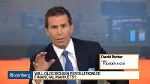 News video: R3 CEO Says Blockchain Is a Once in a Generation Opportunity for Financial Markets