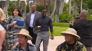 News video: Kevin Hart explains his plan to become a billionaire