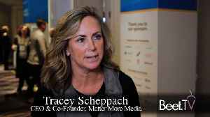 News video: Matter More Media's Tracey Scheppach On Addressable TV Tech, Holding Company Silos