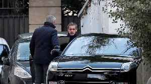 News video: Sarkozy says he's