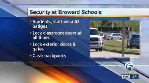 News video: Clear backpacks, other security changes made at Stoneman Douglas High School