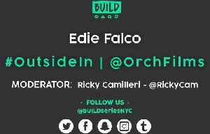 News video: Edie Falco LIVE on BUILD Series