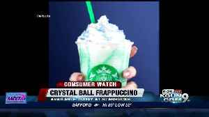 News video: 'Crystal Ball Frappuccino' is the new secret Starbucks drink