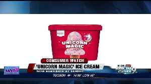 News video: Unicorn-themed sweets and treats are in stores now