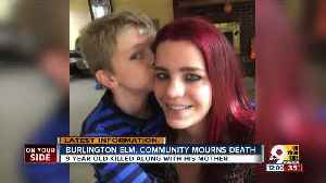News video: Burlington community grieves after shooting death of 9-year-old and his mom
