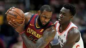 News video: Colin Cowherd on LeBron 'owning these baby dinosaurs'