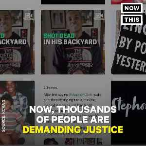 News video: Police Shot Stephon Clark 20 Times in His Backyard