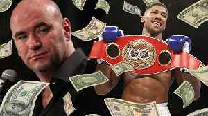 News video: Dana White Offering Anthony Joshua HOW MUCH To Enter The Octagon?!