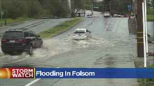 News video: Humbug Creek Floods Sibley Creek In FOlsom
