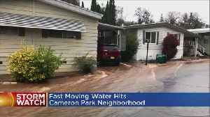News video: Scary Moments For Residents At Cameron Park Mobile Home Park