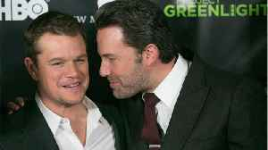 News video: Matt Damon Shares Thoughts On Ben Affleck's Huge Back Tattoo