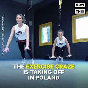 News video: Bungee Fitness Makes Your Work Out Fun Again