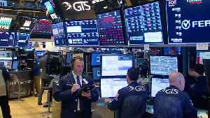 News video: Wall St suffers biggest drop in 6 weeks