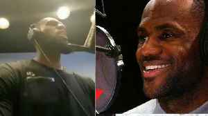 News video: Is LeBron James Recording An Album in The Studio?