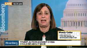 News video: Asia Society's Cutler Sees U.S., China Heading to Trade War