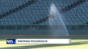 News video: Two weeks out from the Cleveland Indians home opener and Progressive Field preps well underway