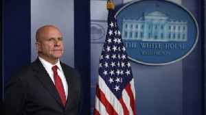 News video: National Security Adviser H.R. McMaster to Resign