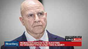 News video: Trump Is Replacing National Security Adviser McMaster With Bolton