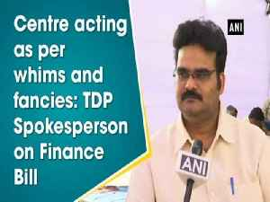 Centre acting as per whims and fancies: TDP Spokesperson on Finance Bill [Video]