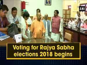 News video: Voting for Rajya Sabha elections 2018 begins