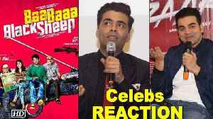 "News video: Celebs REACTION on Maniesh & Anupam's ""Baa Baa Black Sheep"""