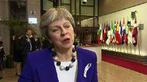 News video: Theresa May: Threat from Russia 'respects no borders'