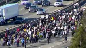 News video: After police shooting, protests surround Sacramento Kings arena