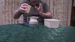 News video: Here's How To Fill A Cup With Cordial As If By Magic
