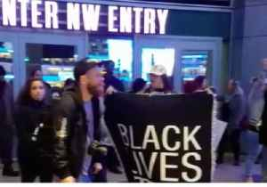 News video: Stephon Clark: Protesters Rally at Golden 1 Center, Delaying Kings Game