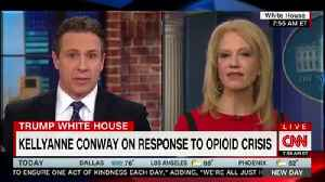 News video: CNN's Chris Cuomo Challenges Kellyanne Conway About Trump's Drug Pusher Death Penalty