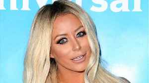 News video: Aubrey O'Day Admitted On TV That She Had A Crush On Don Jr.