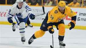 News video: Predators LIVE To Go: Nashville's 15-game point streak ends in loss to Maple Leafs