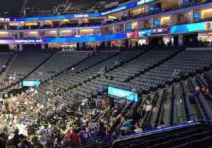 News video: Sparse Crowd for Kings Game as Stephon Clark Protesters Gather at  Golden 1 Center