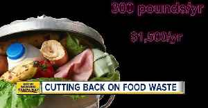 News video: Cutting back on food waste