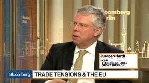 News video: CDU's Hardt Rules Out 'Race to the Top' on Trade Tariffs