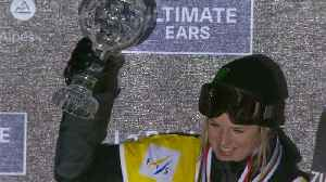 News video: Sharpe wins in Tignes to seal halfpipe World Cup crown