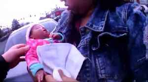 News video: Body cam footage shows officers saving choking 2-month-old