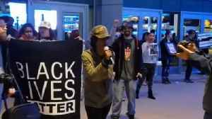 News video: Protesters Prevent Ticket holders from Watching NBA Game