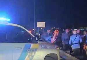 News video: NJ State Troopers Rescue Man Stuck in Swamp Near Turnpike