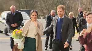 News video: Britain's Prince Harry and Meghan Markle kick off Northern Ireland visit
