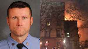 News video: Firefighter and Father of Four Dies While Fighting Blaze On Ed Norton Film Set
