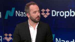 News video: Dropbox Won't Run Out of Customers Anytime Soon, CEO Says