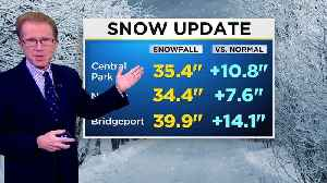 News video: CBS2 Weather Update: March 23 at 2 p.m.