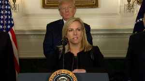 News video: DHS Secretary: 'This is a down payment on a border wall'