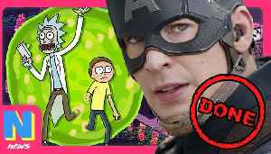 News video: Chris Evans is DONE with the MCU, and NO, Rick and Morty Isn't Cancelled   NW News