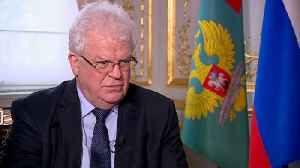 News video: Russia's ambassador to the EU downplays detoriorating relations with the bloc