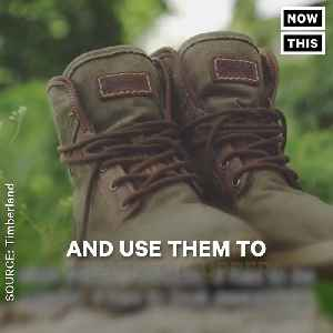News video: These Timberland Boots Are Made From Recycled Beach Plastic