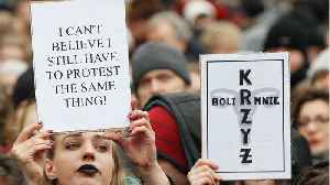 News video: Poles Once Again March Against Abortion Ban